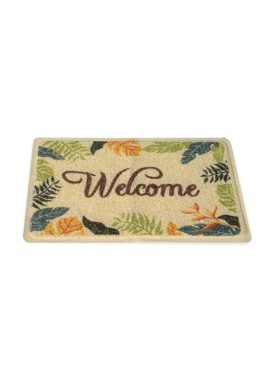 Tropical Welcome Doormat (Multicolor)