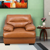 Henders 1 Seater Sofa (Tan)