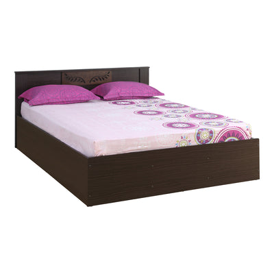 Hero Queen Bed Without Storage (Wenge)