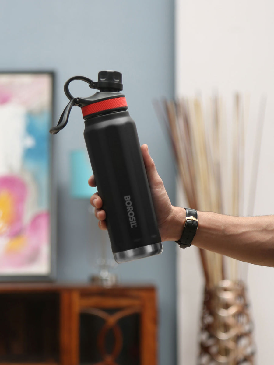 Sportsip 710 ml Flask (Black)