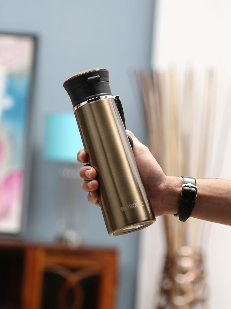 Travelease 420 ml Flask (Brown)