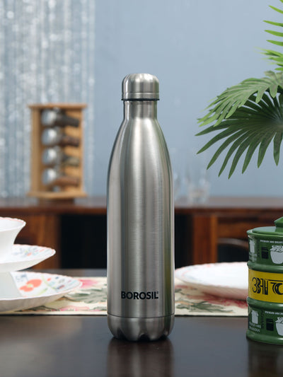 1000 ml Thermoflask (Silver)
