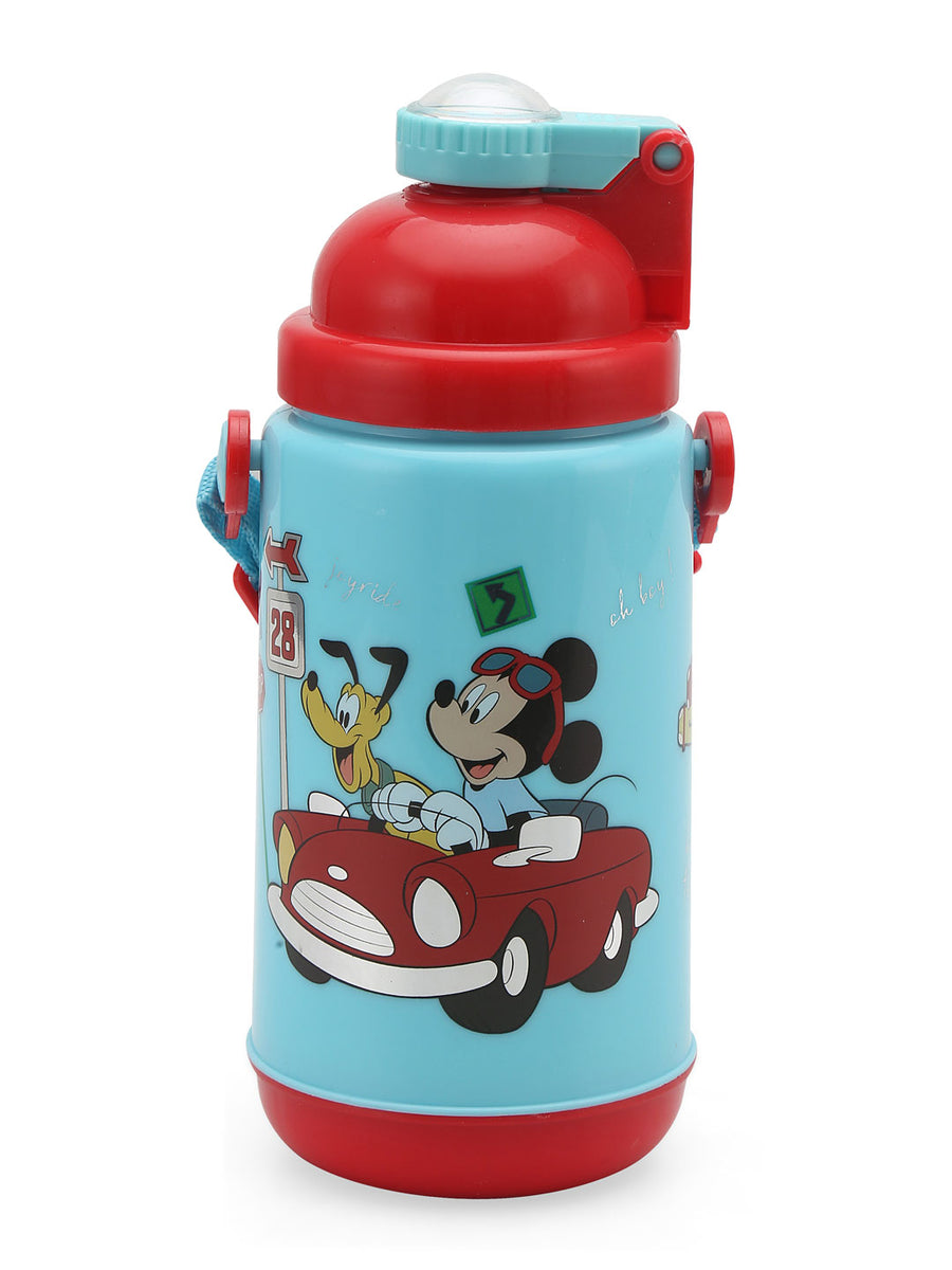 Mickey Insulated 500 ml Sipper Bottle (Multicolor)