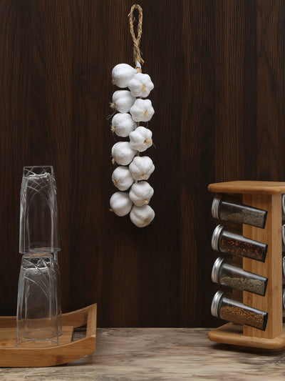 Artificial Garlic Bunch (White)