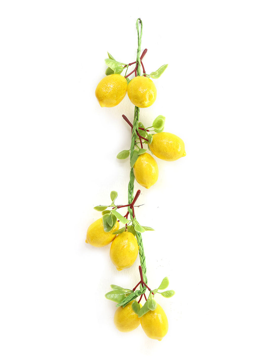 Artificial Lemon Bunch (Yellow)