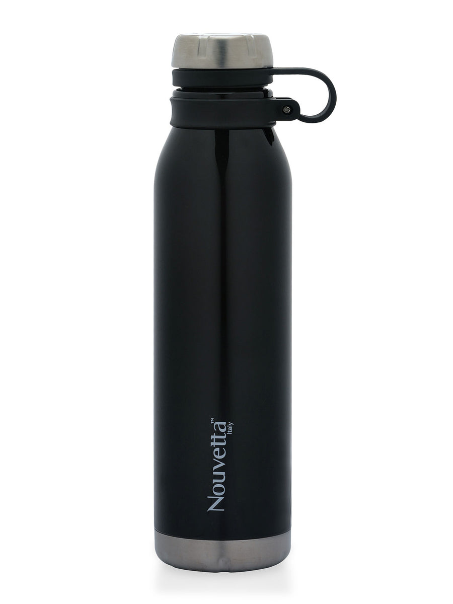 Crown 750 ml Double Wall Bottle (Black)