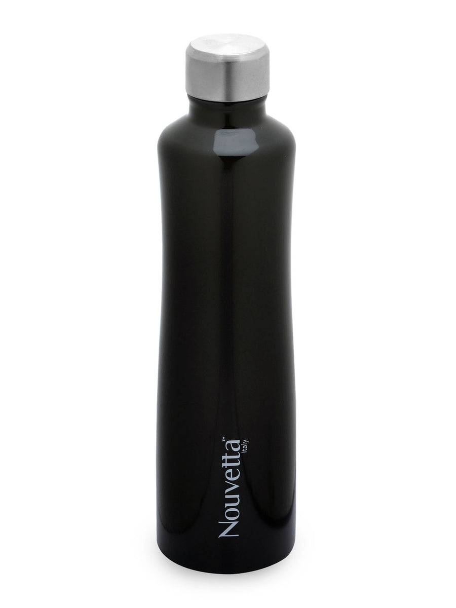 Vintage 750 ml Double Wall Bottle (Black)