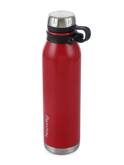 Crown Double Wall 750 ml Bottle (Red)