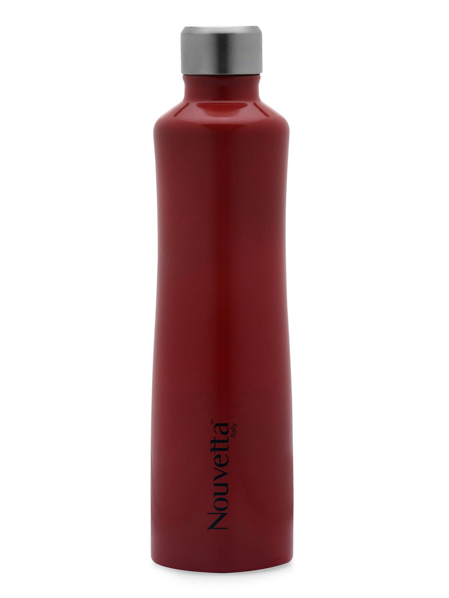 Vintage 750 ml Double Wall Bottle (Red)