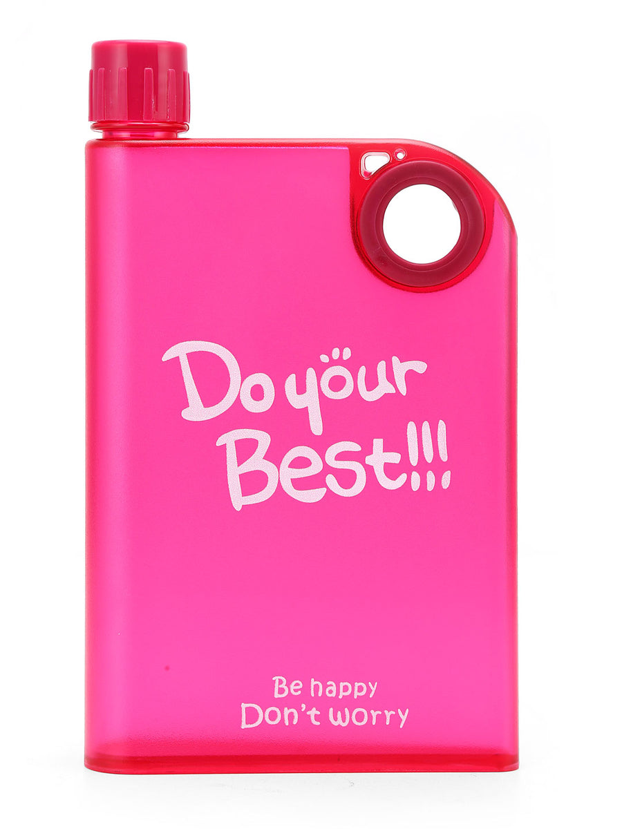 Notebook Portable 380 ml Bottle (Pink)