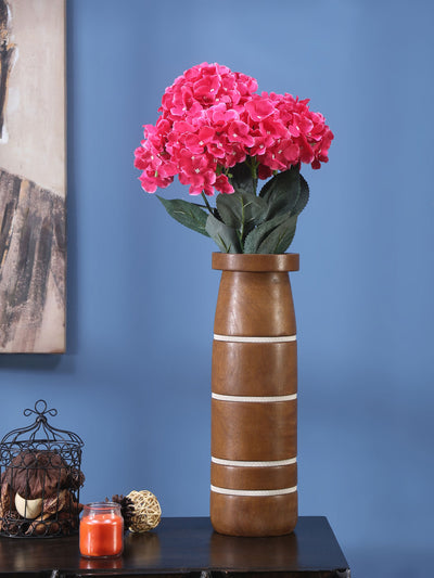 Hydrangea Flower Bunch (Red)