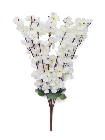 Bloom Floral Flower Bunch (White)