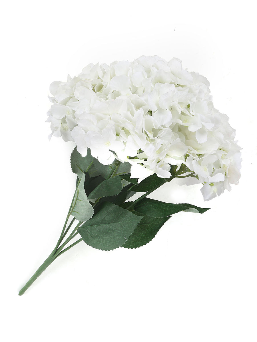 Hydrangea Flower Bunch (White)