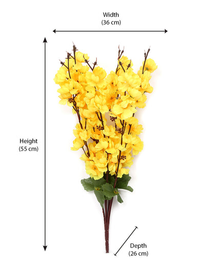 Bloom Floral Flower Bunch (Yellow)