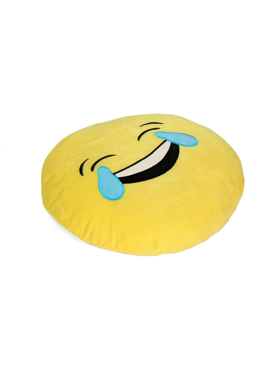Joy Tear filled cushion 35cm (Yellow)