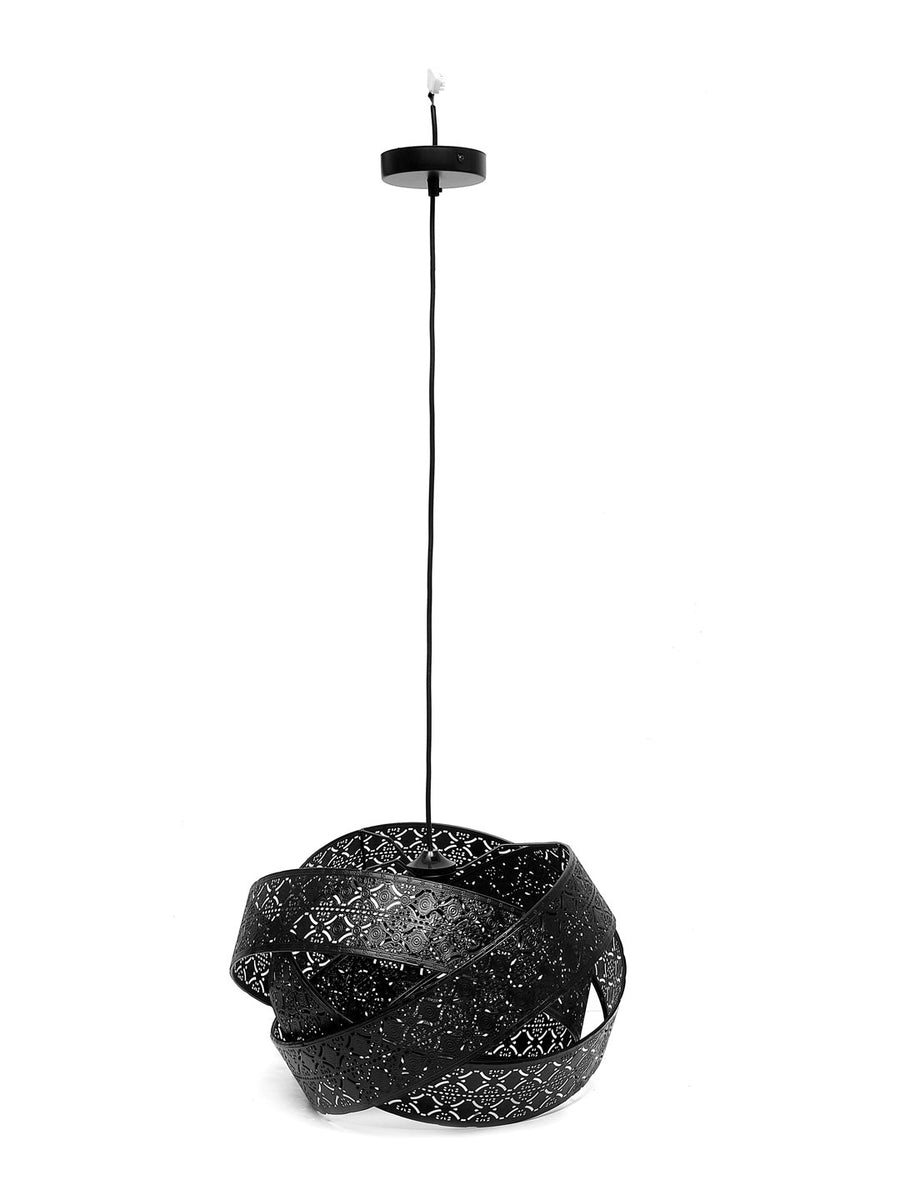 Metalica Ceiling Lamp (Black)
