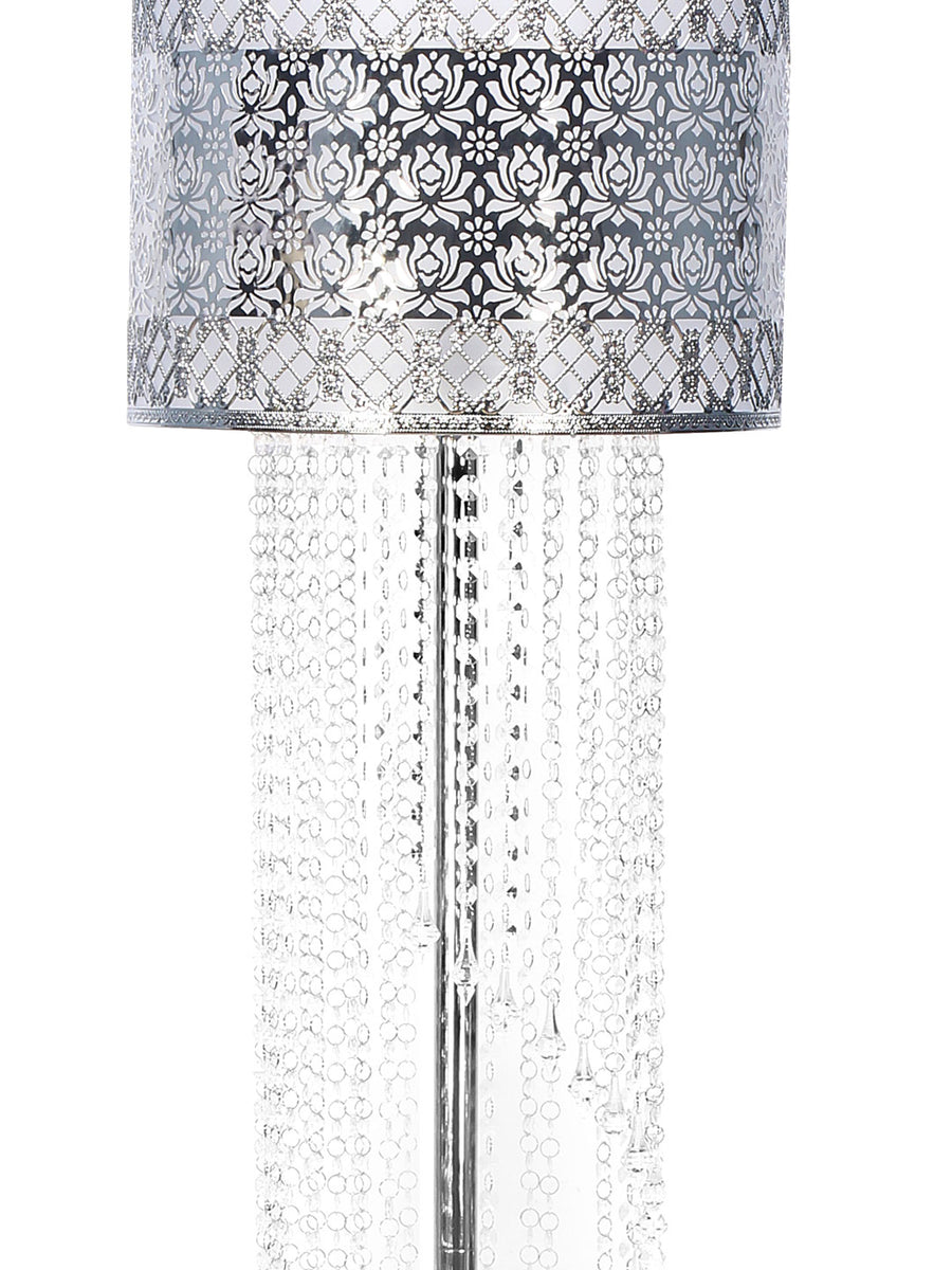 Crystalia Floor Lamp (Silver)