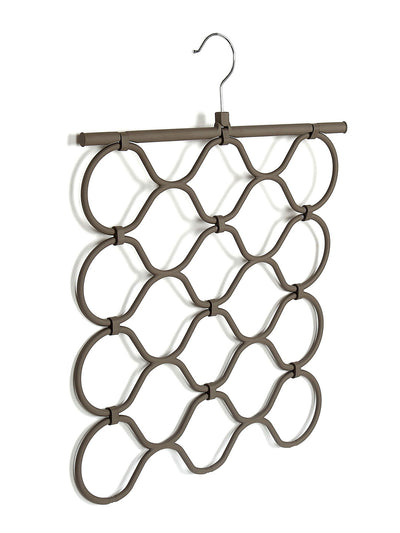 Foldable 4 Layers Hanger Scraf (Grey)