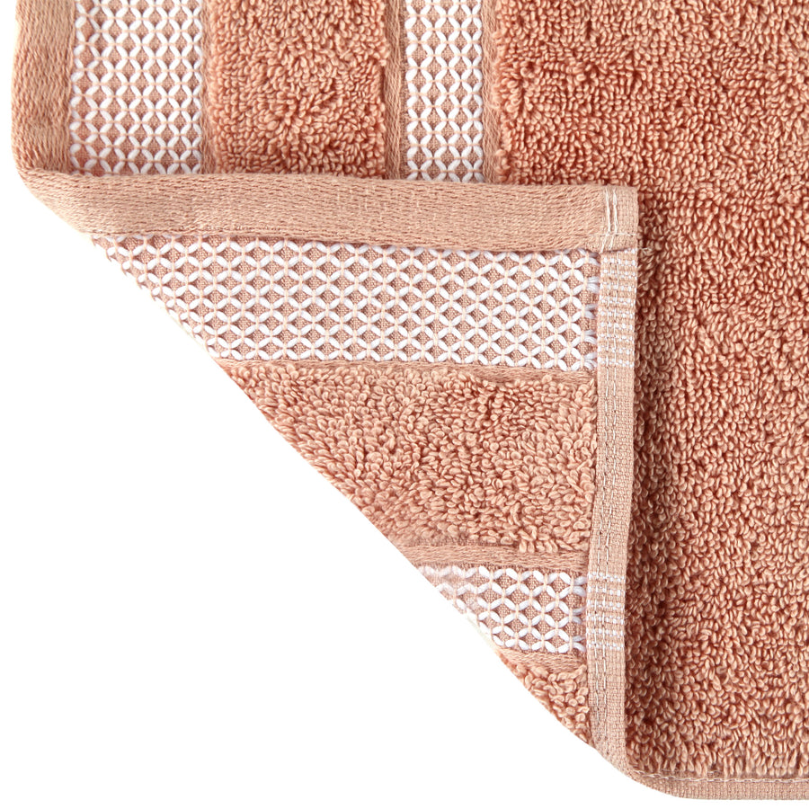 Spaces Hygro Small 2 Pcs Hand Towel Set 600 GSM(Coral)