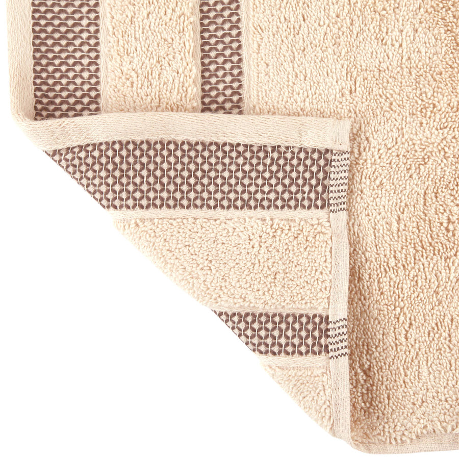 Spaces Hygro Small 2 Pcs Hand Towel Set 600 GSM(Cream)