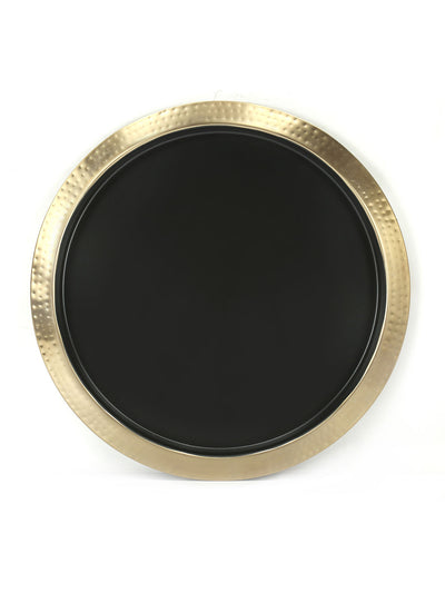 Round Bar Tray (Gold & Black)
