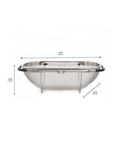 Stainless Steel Sink Basket (Silver)