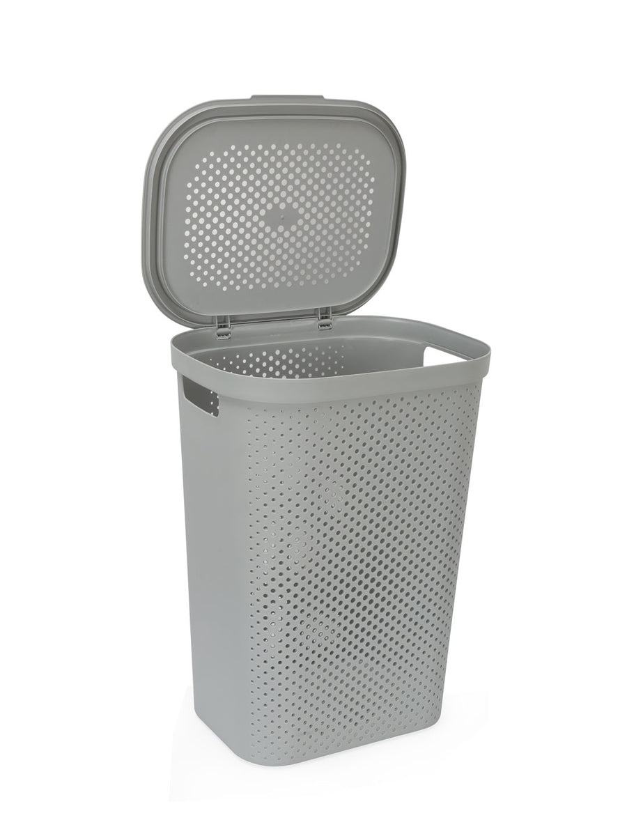 Rectangular 58 Litre Laundry (Grey)