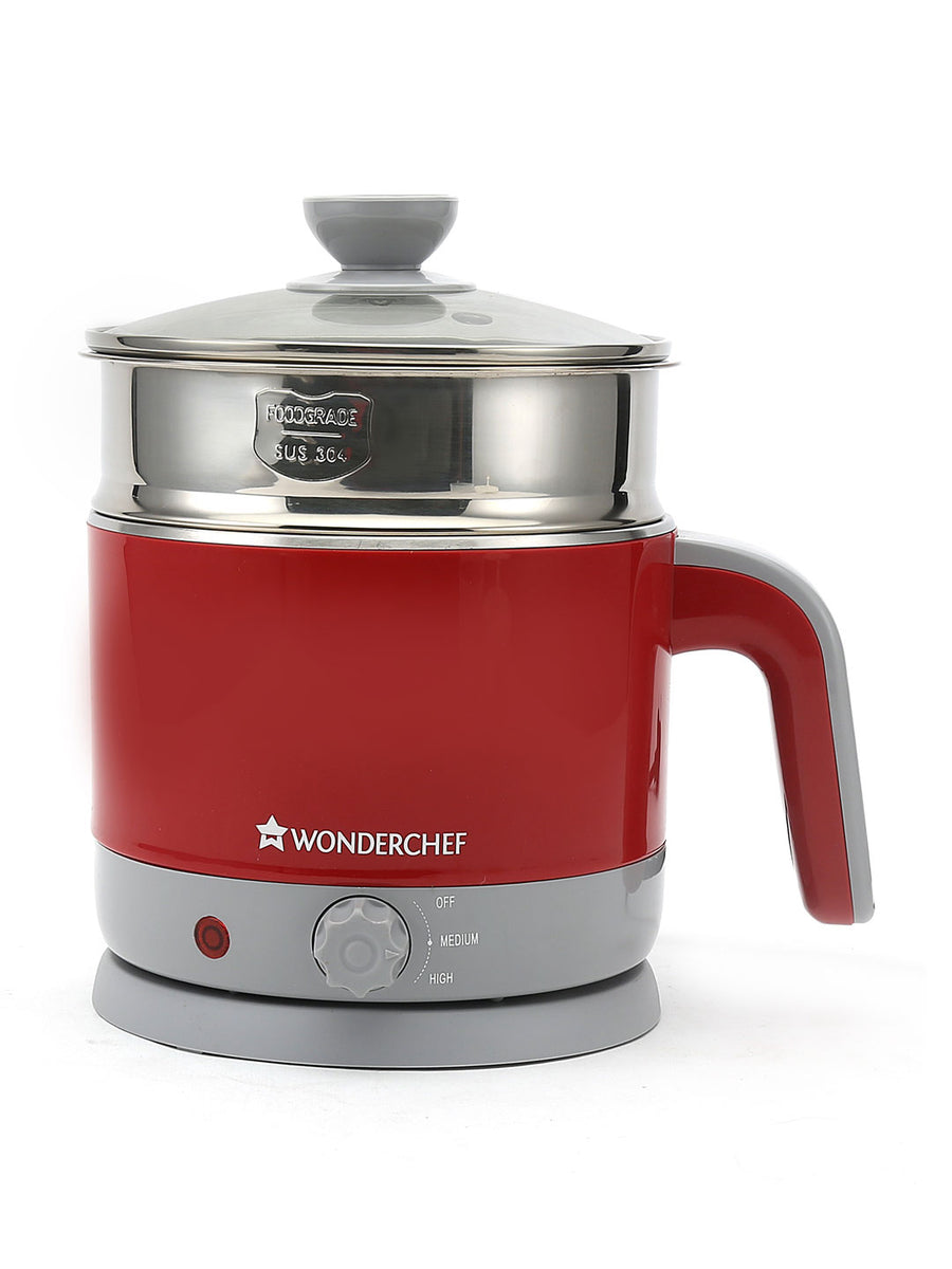 Luxe 1200 ml Electric Kettle (Red)