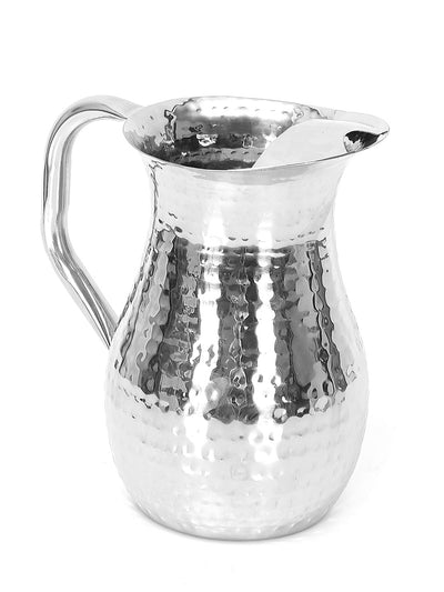 Hammered Water Jug (Silver)