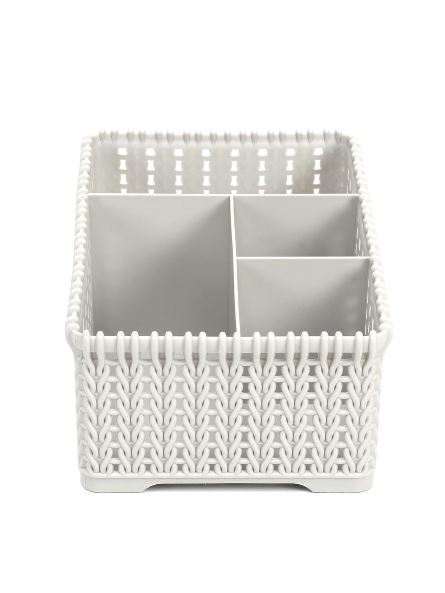 Knit 4 Section Organiser (Grey)