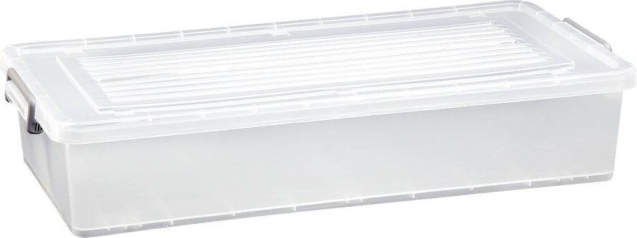 35 Litre Underbed Rolling Box (Clear)