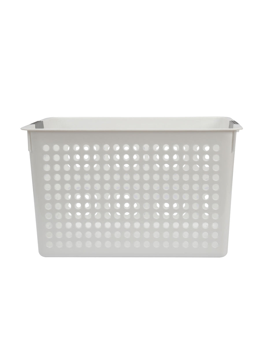 Storage Desk Basket (White)