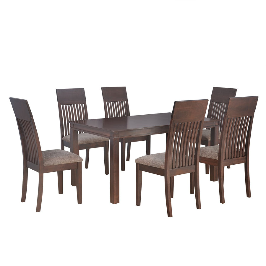 Hormbean 6 Seater Dining Set (Expresso)