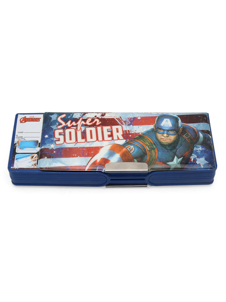Avenger Magnet Pencil Box (Blue)