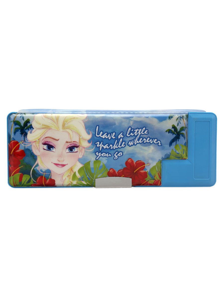 Frozen Magnet Pencil Box (Blue)
