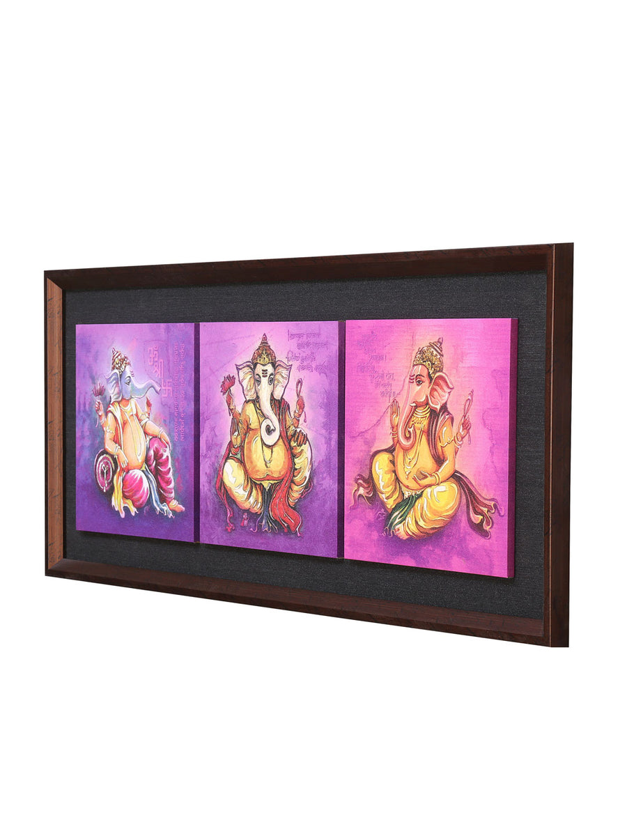 Ganesha Partition Painting (Lavender)