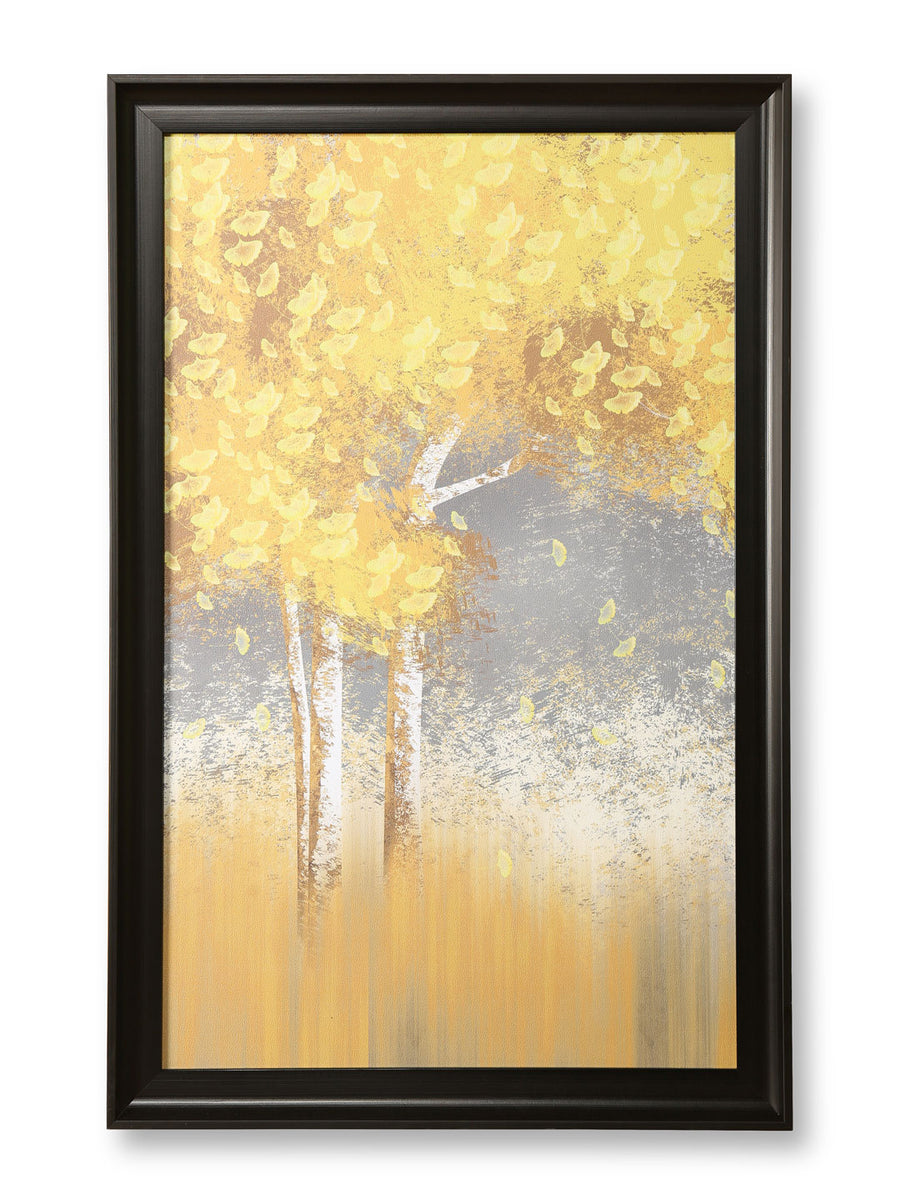 Abstract Tree Painting (Yellow)