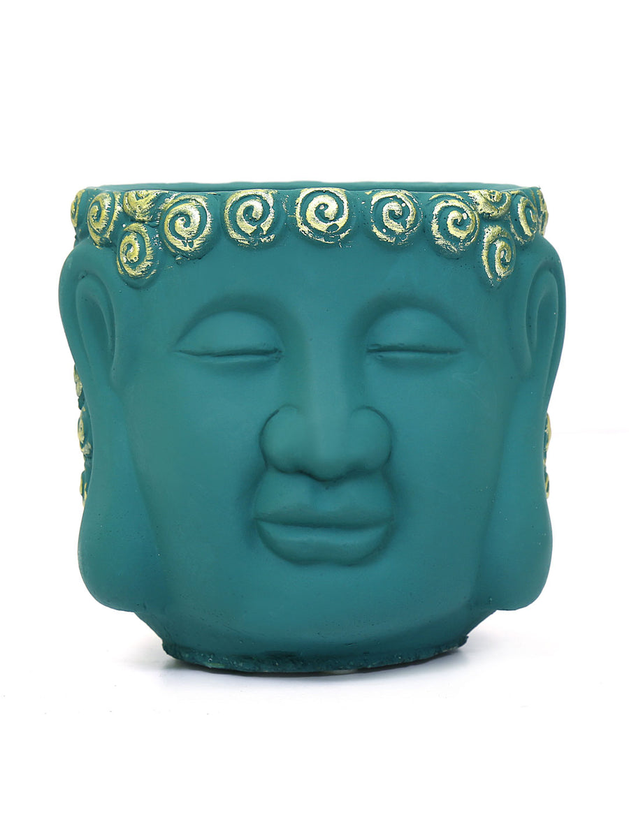 Buddha Face Planter (Sea Green)