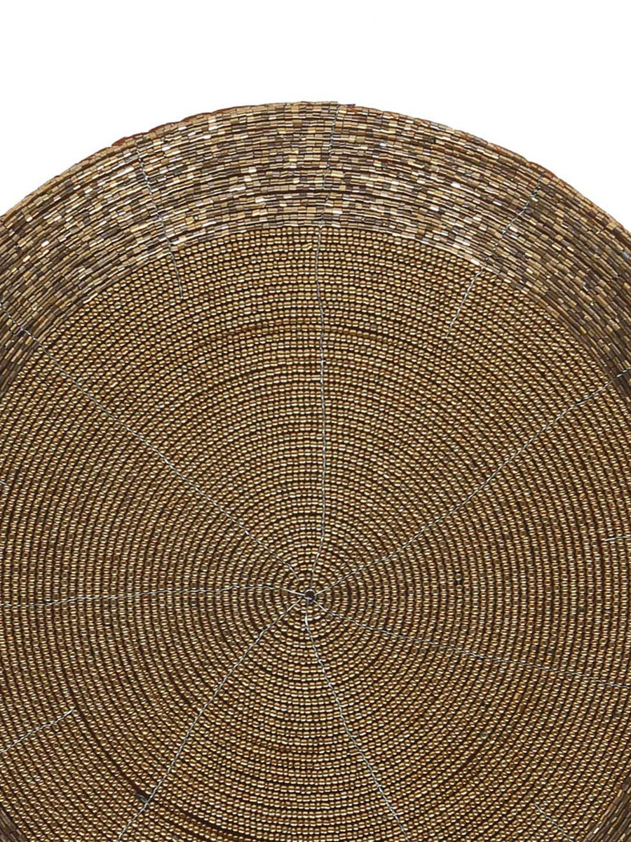 Bead Placemat 1 Piece (Brown)