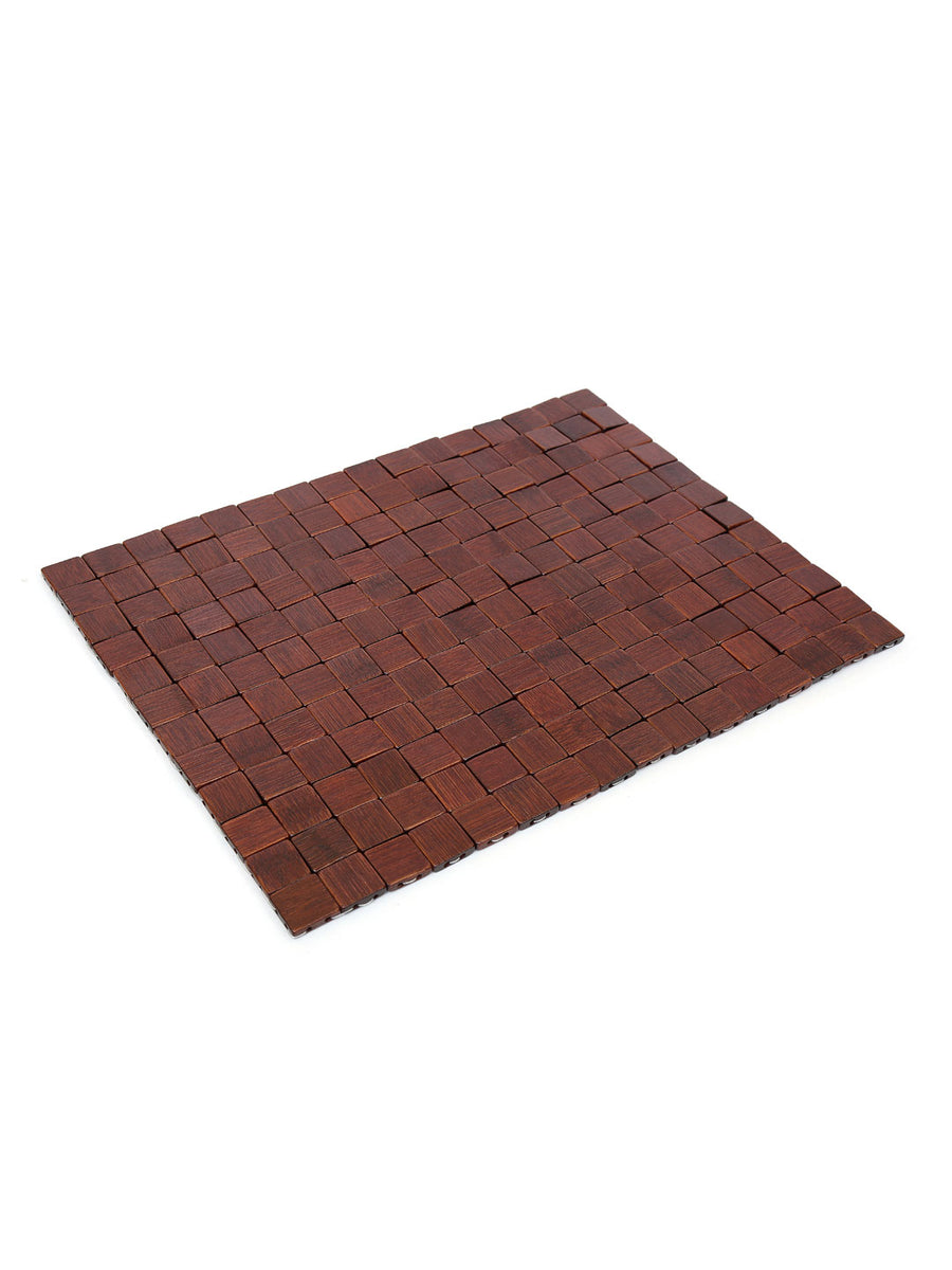 Check Scale Placemat (Brown)