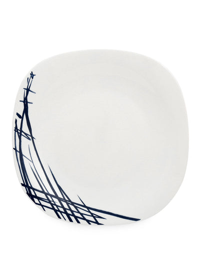 Quadra Belladona Full Plate 6 Pieces (White)