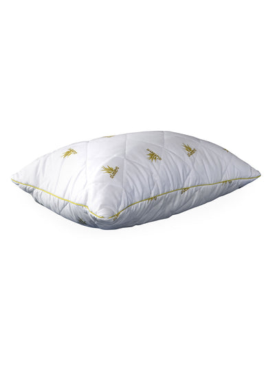 Aloevera Quilted Pillow (White)