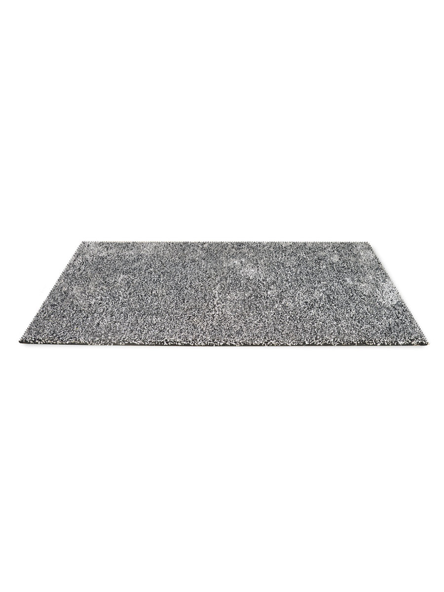 Lurex Rugs Shaggy (Black & White)