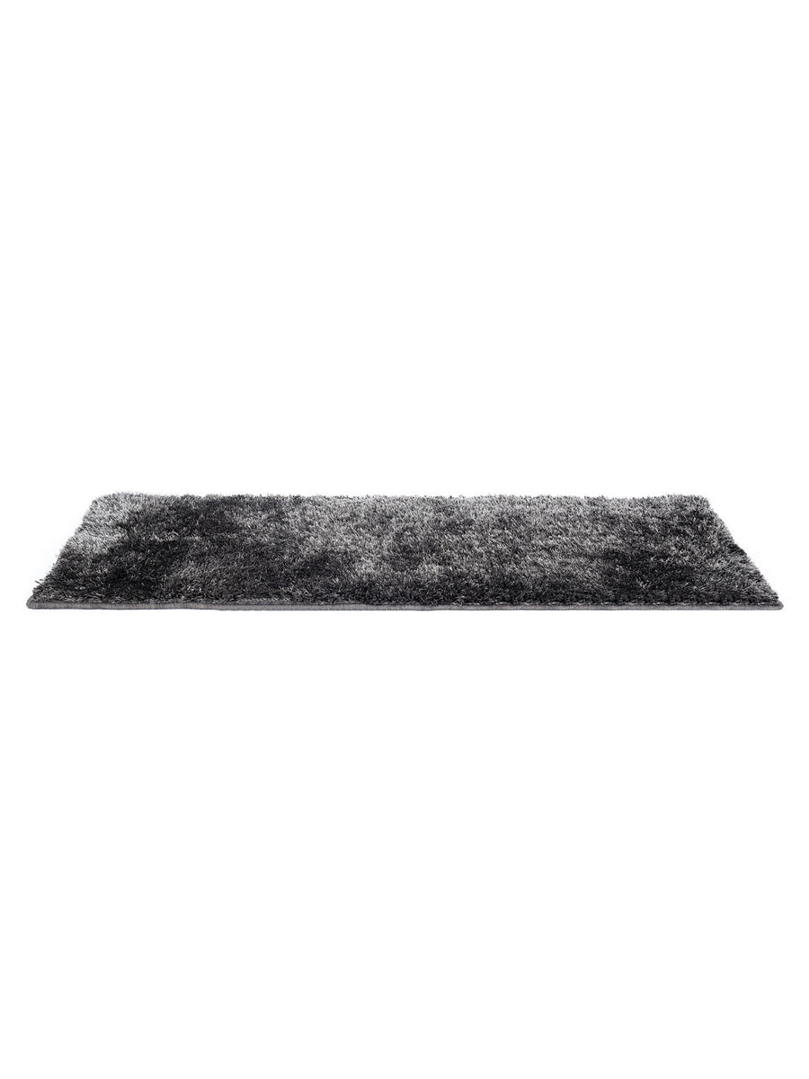 Shaggy Lurex Rug (Grey)