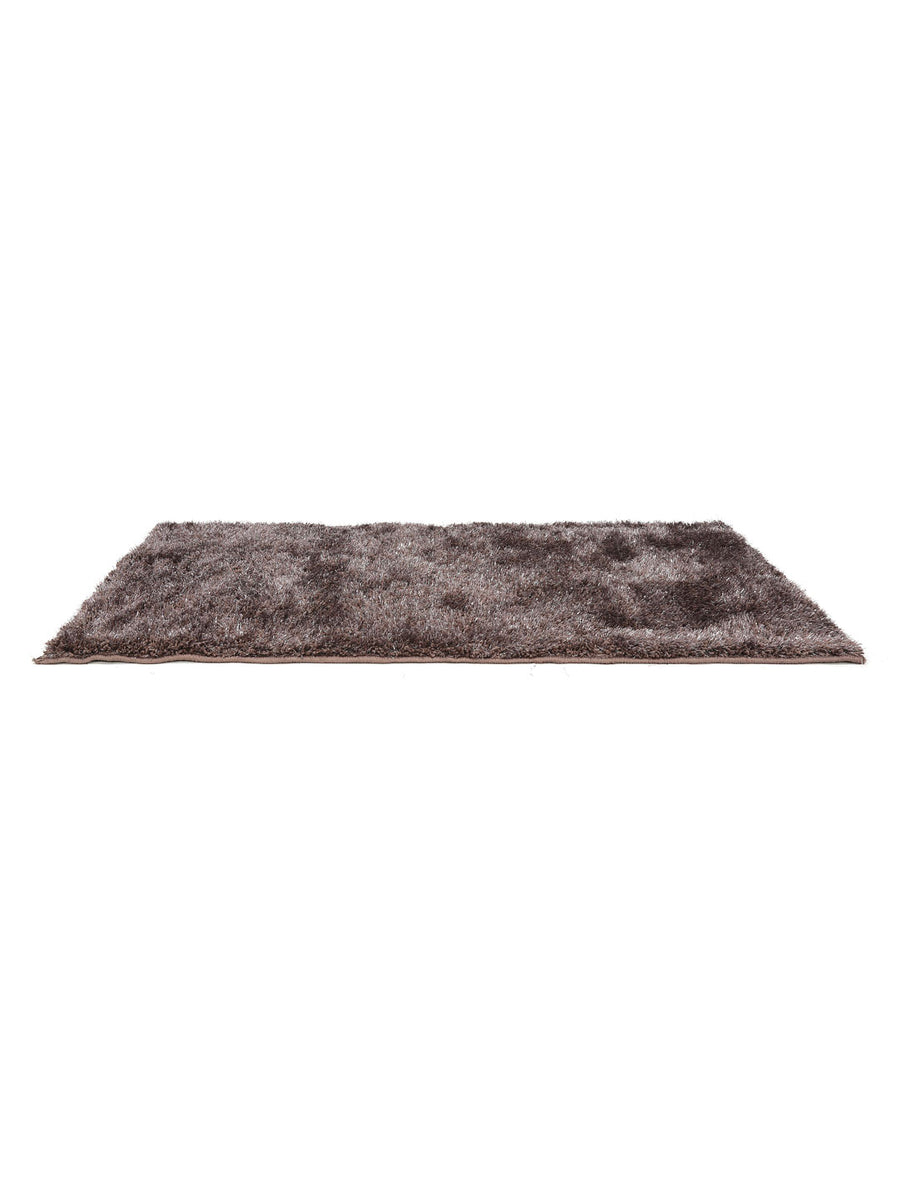 Lurex Shaggy Area Rug (Purple)