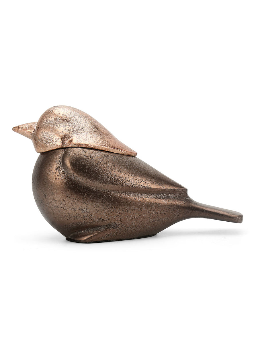 Sparrow Showpiece (Gold)