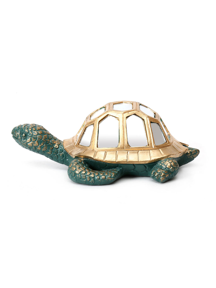 Tortoise Small Showpiece (Gold)