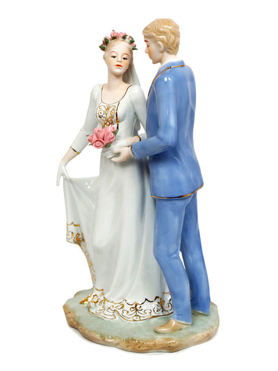Dancing Couple Showpiece (Blue)