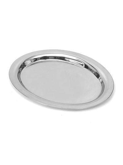 Oval Rice Platter (Silver)