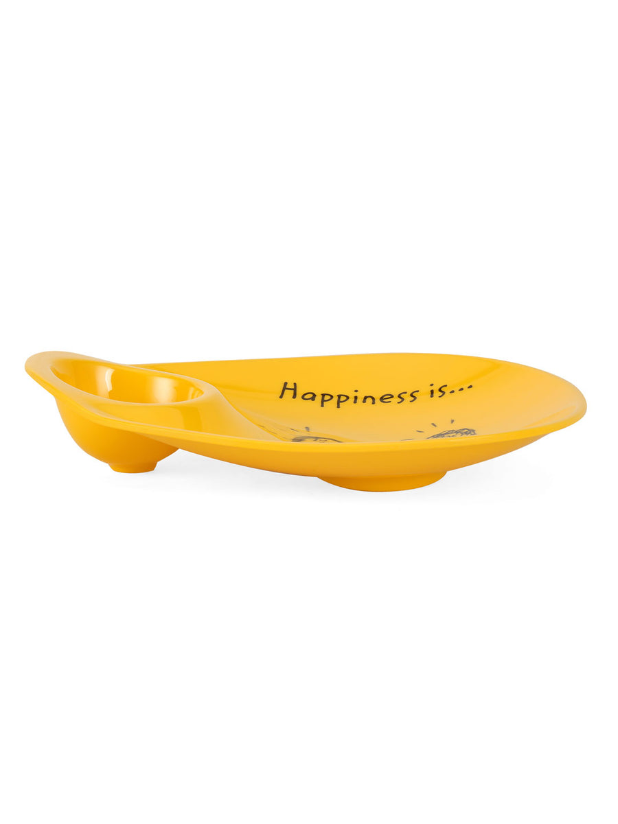 Happiness Chip & Dip Platter (Yellow)